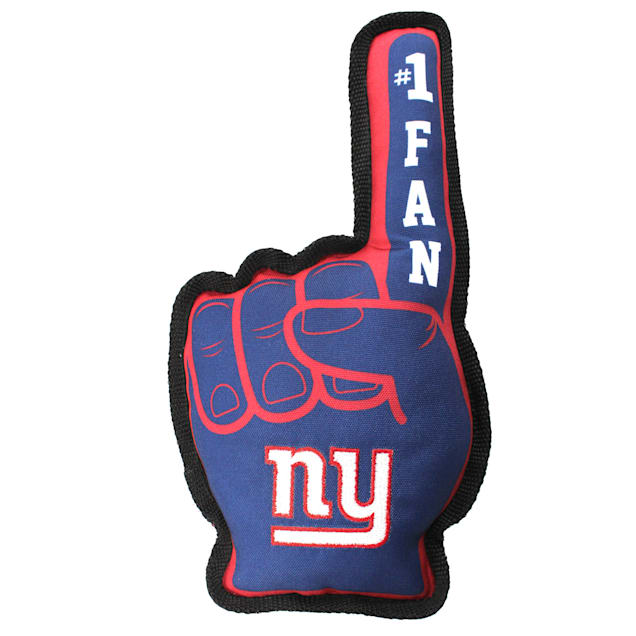 Pets First New York Giants #1 Fan Dog Toy - Carousel image #1
