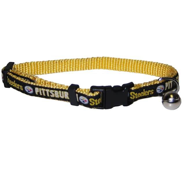 Pets First Pittsburgh Steelers Cat Collar - Carousel image #1