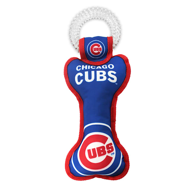 Pets First Chicago Cubs Dental Tug Dog Toy - Carousel image #1