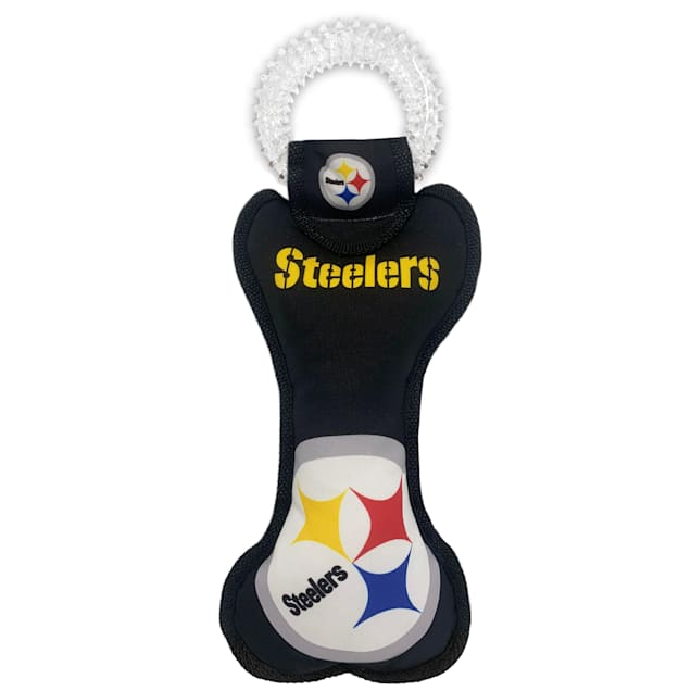 Pets First Pittsburgh Steelers Dental Tug Dog Toy - Carousel image #1