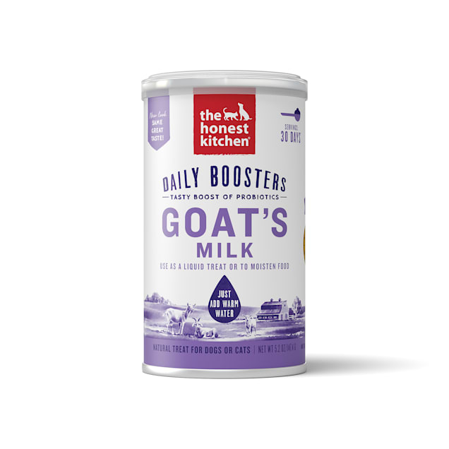 The Honest Kitchen Daily Boosts: Instant Goat's Milk with Probiotics Wet Dog Food, 5.2 oz. - Carousel image #1