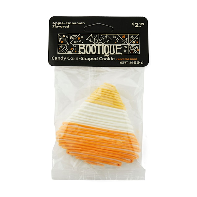 Bootique Candy Corn-shaped Dog Cookie Treat for Dogs, 2.1 oz. - Carousel image #1