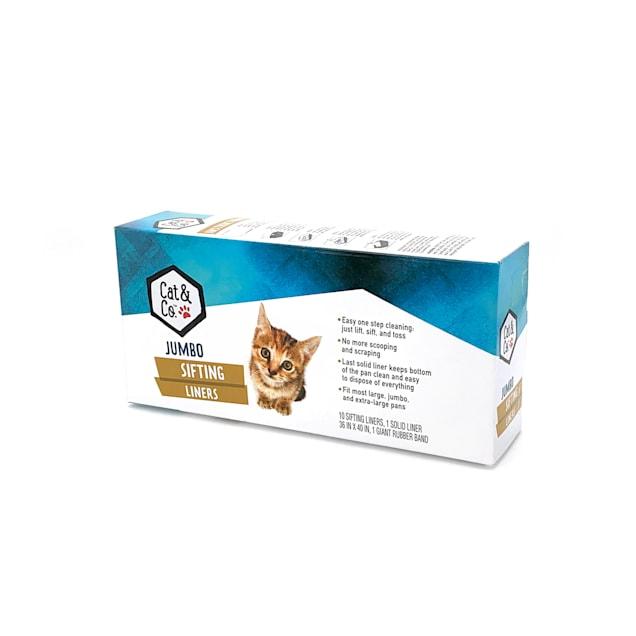 "Cat & Co. Jumbo Sifting Cat Litter Liner, 36"" L X 40"" W - Carousel image #1"