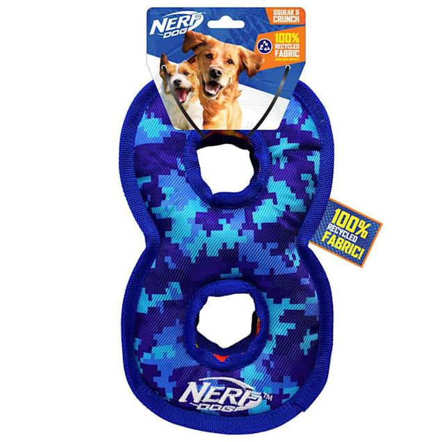 Nerf Nylon Digital Camo Infinity Loop Dog Toy, Medium - Carousel image #1