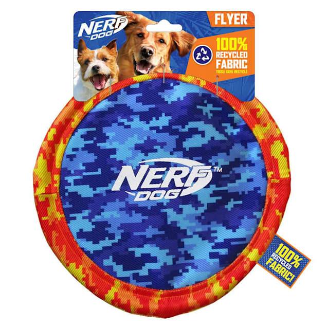 Nerf Nylon Digital Camo Disc Dog Toy, Medium - Carousel image #1