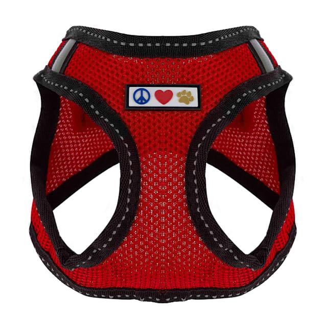 Pawtitas Red Reflective Dog Harness, XX-Small - Carousel image #1