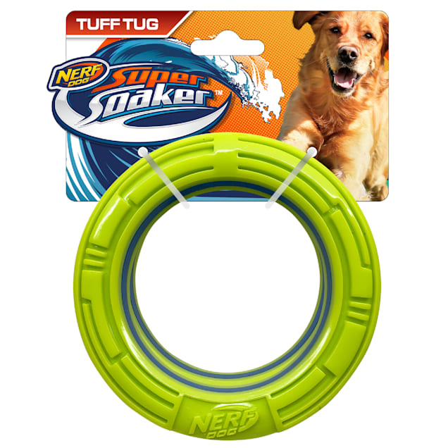 Nerf TPR Elite Ring Dog Toy, X-Small, Pack of 2 - Carousel image #1