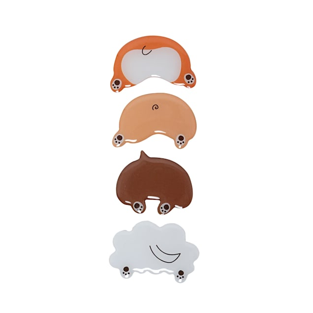 Pearhead Pet Dog Butt Magnets for Refrigerator, Pack of 4 - Carousel image #1