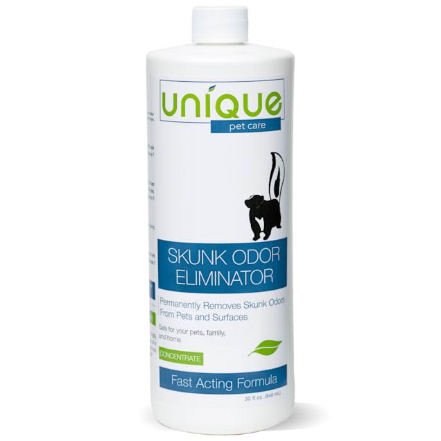 Unique Pet Care Skunk Dog Odor Remover Concentrate, 32 fl. oz. - Carousel image #1