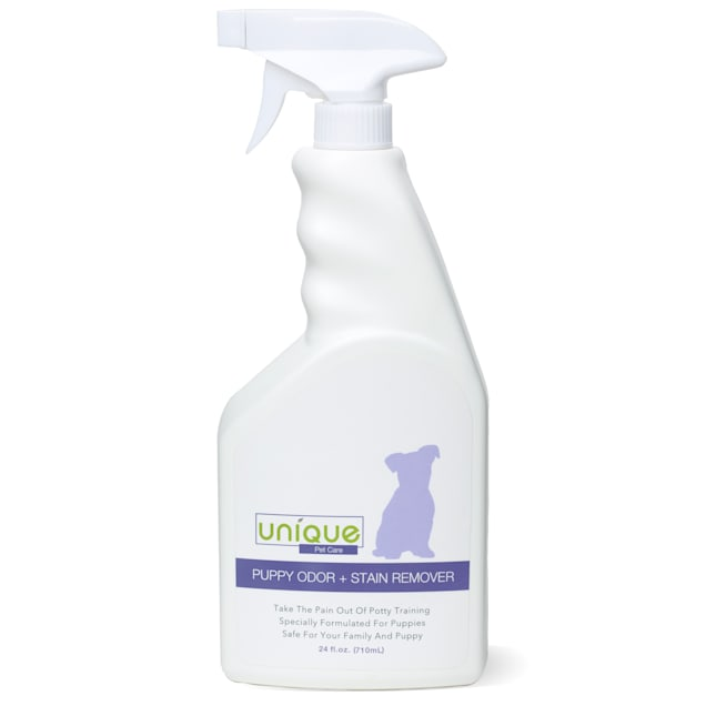 Unique Pet Care Puppy Odor + Stain Remover Ready To Use, 24 fl. oz. - Carousel image #1