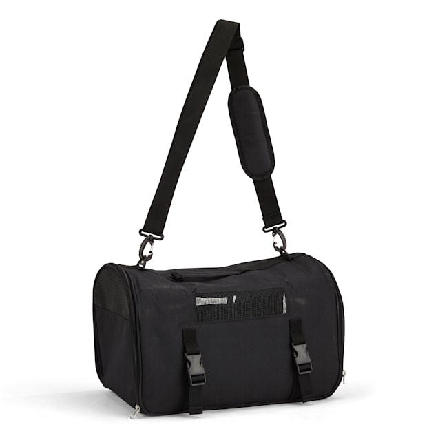 EveryYay Going Places To Go Black Pet Carrier, Small - Carousel image #1