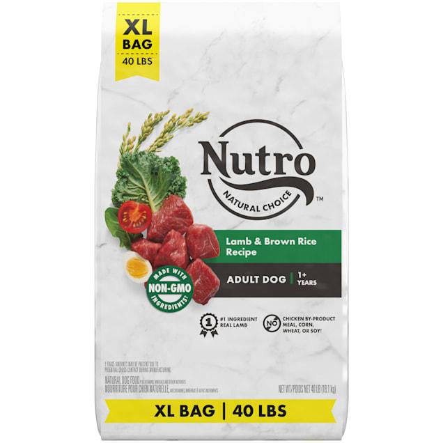 Nutro Natural Choice Lamb & Brown Rice Recipe Adult Dry Dog Food, 40 lbs. - Carousel image #1