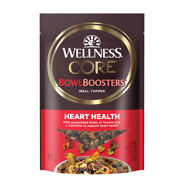 Wellness CORE Bowl Boosters Heart Health Dog Food Topper, 4 oz. - Carousel image #1