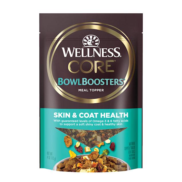 Wellness CORE Bowl Boosters Skin & Coat Health Dog Food Topper, 4 oz. - Carousel image #1
