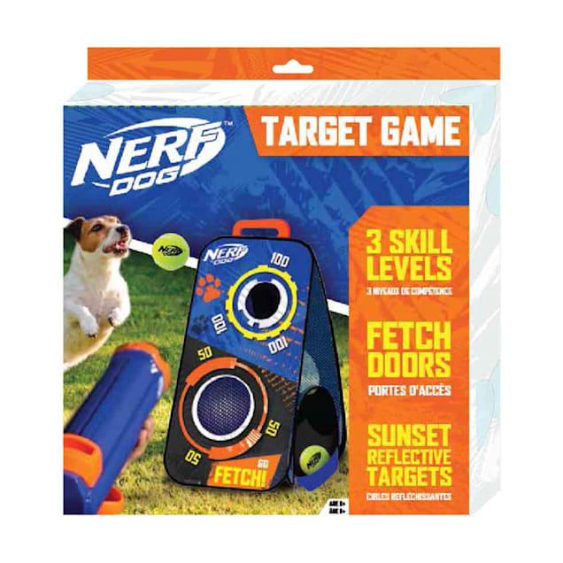 Nerf Nylon Collapsing Mesh Box Target Game Dog Toy, X-Large - Carousel image #1