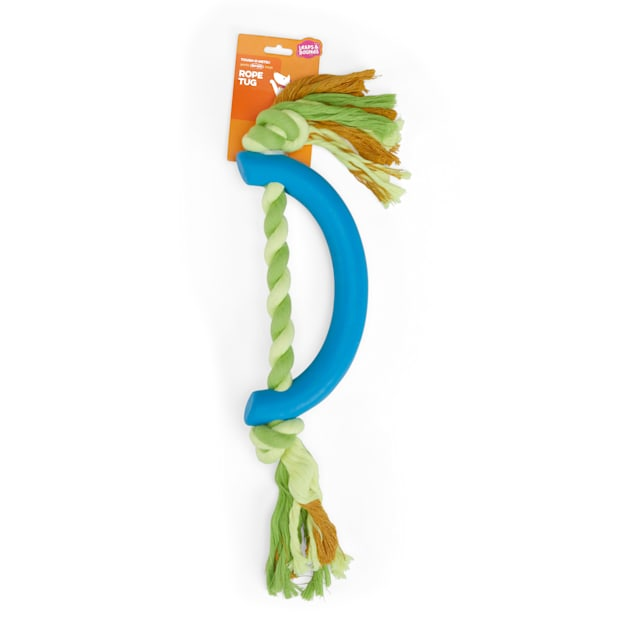 Leaps & Bounds Rubber & Rope Dog Toy, XX-Large - Carousel image #1