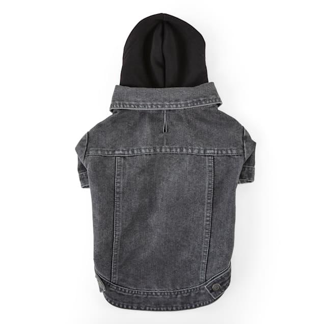 Reddy Denim Hooded Dog Jacket, X-Small - Carousel image #1