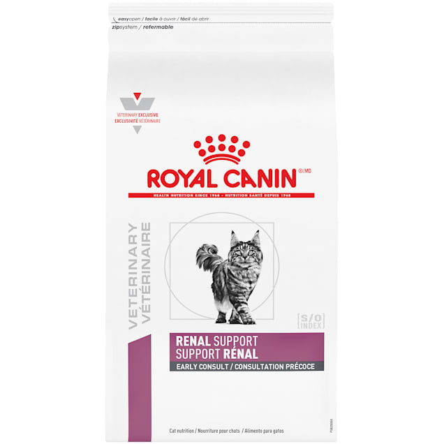 Royal Canin Veterinary Diet Feline Renal Support Early Consult Dry Cat Food, 4.4 lbs. - Carousel image #1