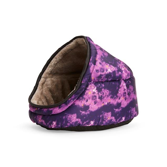 "EveryYay Snooze Fest Galaxy-Print Cuddle Cup Ferret Bed, 11"" L X 8.5"" W X 9"" H - Carousel image #1"
