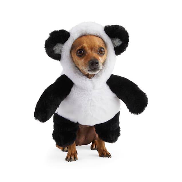 Bootique Panda Bear Pet Illusion Costume, XX-Small - Carousel image #1