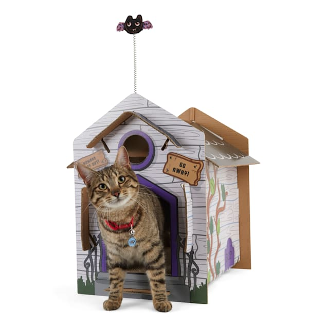 Bootique The Haunting at Mewton Manor Cat Scratcher House - Carousel image #1