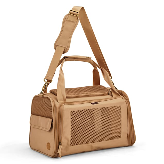 Reddy Tan Fold-Out Pet Carrier, Small - Carousel image #1
