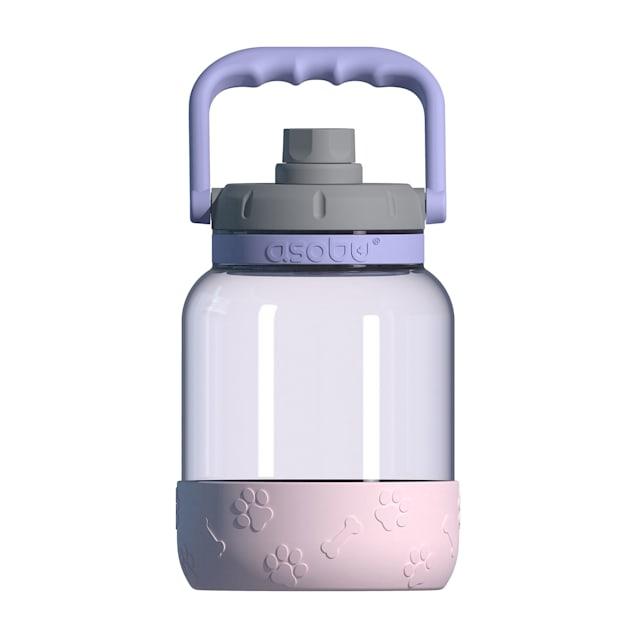 ASOBU Barkley Pink/Purple  Bottle + Dog Bowl - Carousel image #1