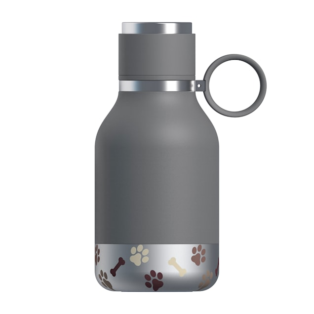 ASOBU Bailey Gray Bottle + Dog Bowl - Carousel image #1