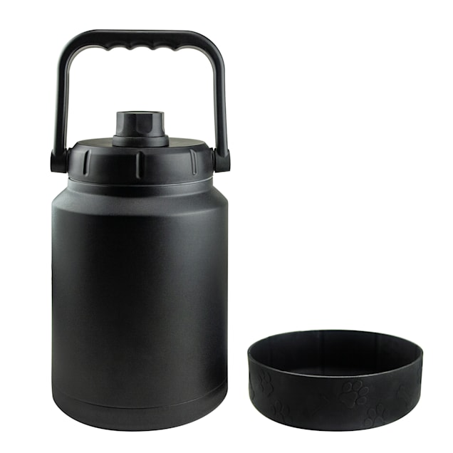 ASOBU Buster Black Jug + Dog Bowl - Carousel image #1