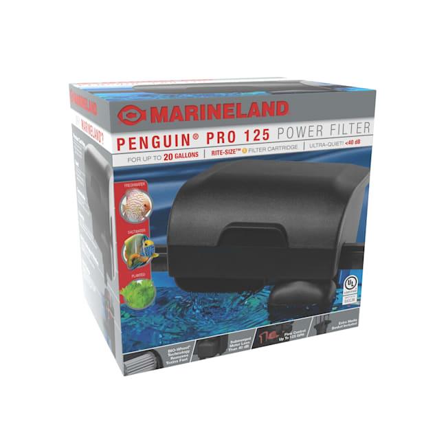 Marineland 125 Penguin PRO Power Filter, Multi-Stage Aquarium Filtration - Carousel image #1