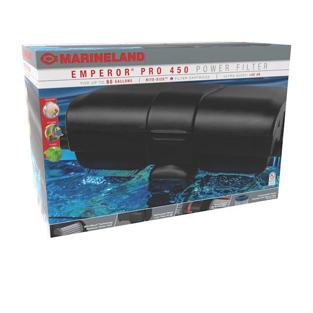 Marineland 450 Emperor PRO Power Filter, Multi-Stage Aquarium Filtration - Carousel image #1