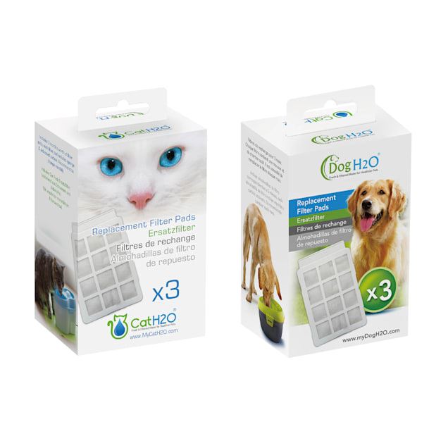 Cat H2O & Dog H2O Replacement Filters, Pack of 3 - Carousel image #1