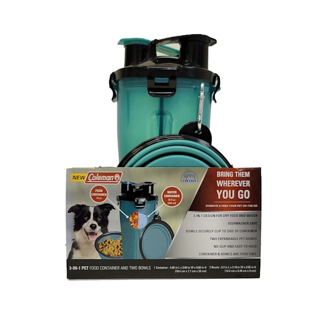 Coleman 3-in-1 Travel Container for Pets - Carousel image #1