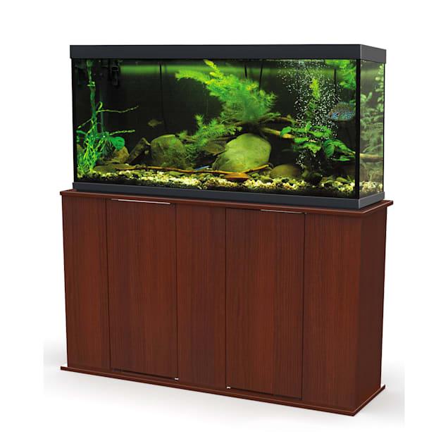 Aquatic Fundamentals Cherry Upright 55 Gallon Aquarium Stand - Carousel image #1