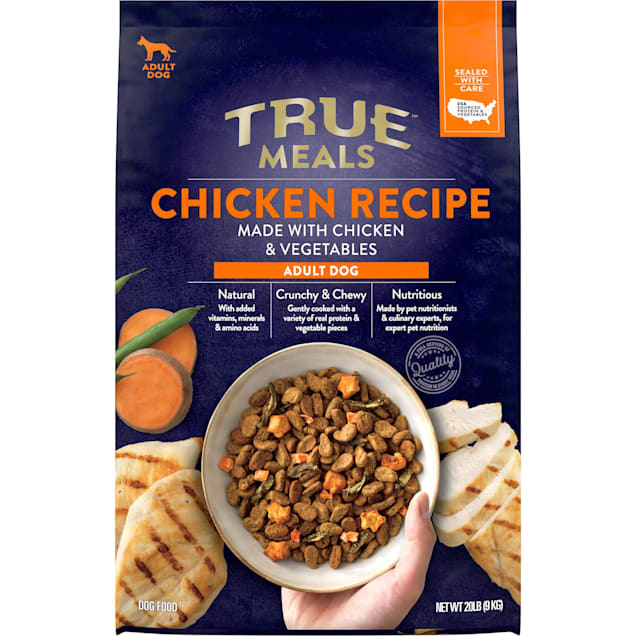 True Meals Chicken Recipe Adult Dry Dog Food, 20 lbs. - Carousel image #1