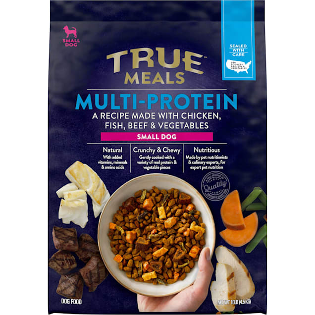True Meals Multi-protein Small Breed Dry Dog Food, 10 lbs. - Carousel image #1