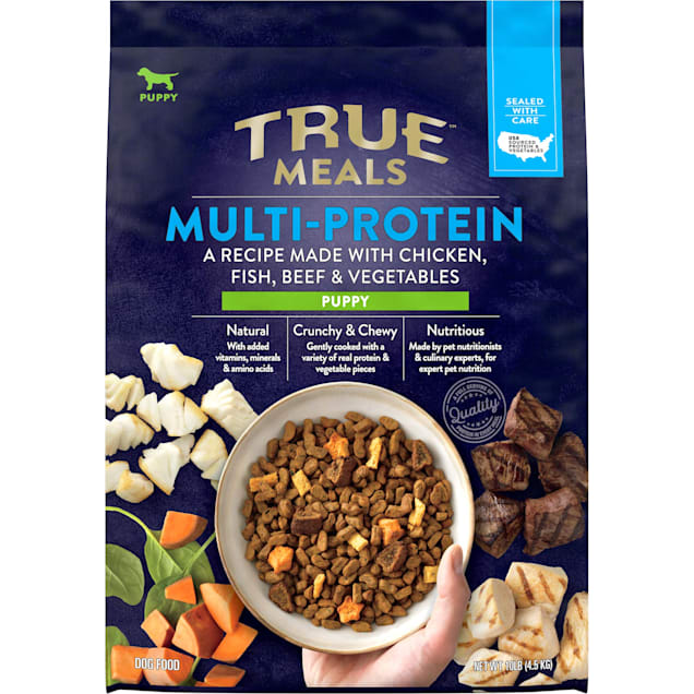 True Meals Multi-protein Dry Puppy Food, 10 lbs. - Carousel image #1