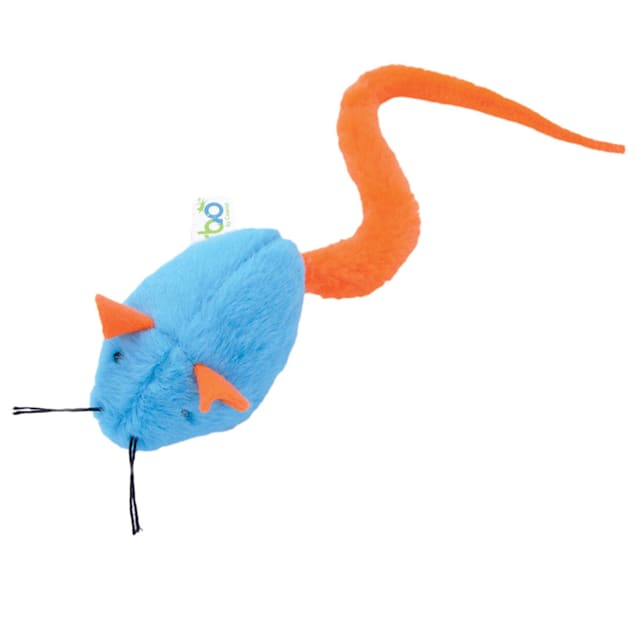 Coastal Pet Products Turbo Coastal Pet Products Turbo Tail Rattle Mouse Cat Toy, Small - Carousel image #1