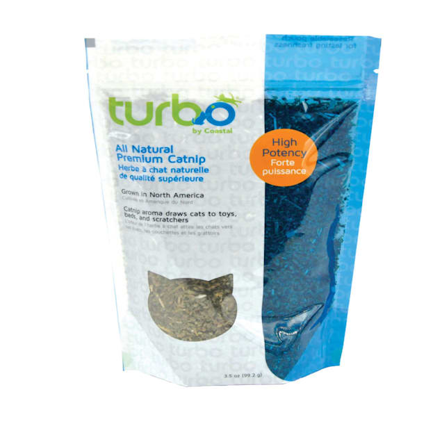 Coastal Pet Products Turbo Bulk Catnip Resealable Pouch, Small - Carousel image #1