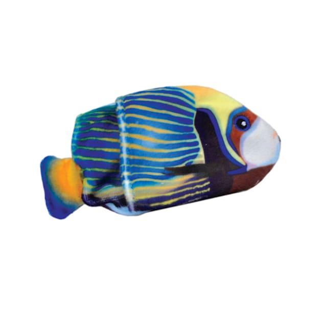 Coastal Pet Products Turbo Life-like Blue Fish Cat Toys, Small - Carousel image #1