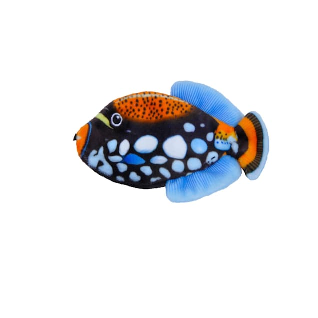 Coastal Pet Products Turbo Life-like Black Fish Cat Toys, Small - Carousel image #1