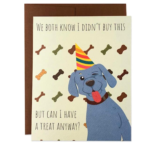 Moose & Pig Happy Birthday Dad Dog Card - Carousel image #1