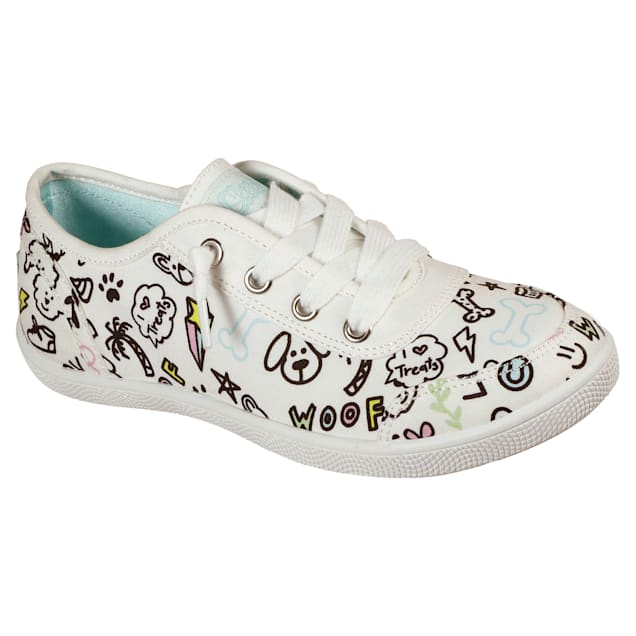BOBS from Skechers Kids B Cute Paw-sitive Vibes shoe, Size 1 - Carousel image #1