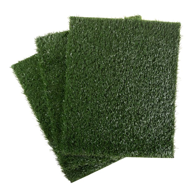 """Pet Adobe Artificial Grass Replacement Mat for Dogs, 23"""" L X 18.5"""" W - Carousel image #1"""