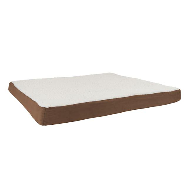 """Pet Adobe Brown Memory Orthopedic Foam Dog Bed, 44"""" L X 35"""" W - Carousel image #1"""