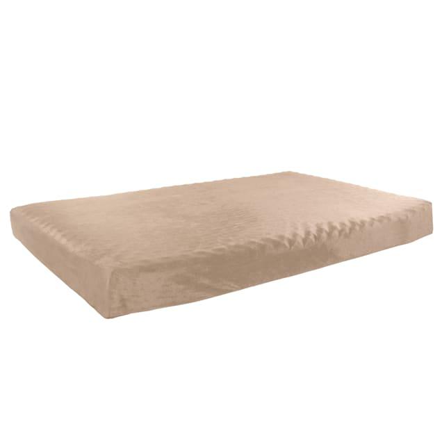 """Pet Pal Tan Orthopedic Memory Foam Pet Bed, 46"""" L X 27"""" W - Carousel image #1"""