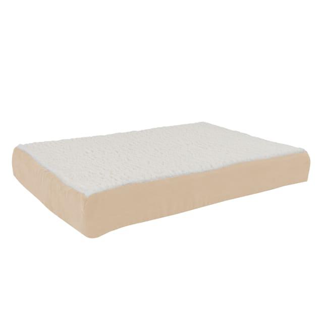 """Pet Adobe Tan Memory Foam Orthopedic Pet Bed, 30"""" L X 20.5"""" W - Carousel image #1"""
