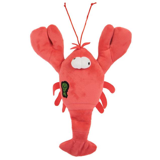 goDog Action Plush Lobster Dog Toy, Medium - Carousel image #1