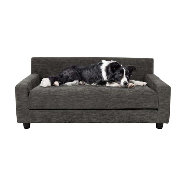 "Club Nine Pets Charcoal Metro Orthopedic Dog Bed, 40"" L X 24"" W - Carousel image #1"