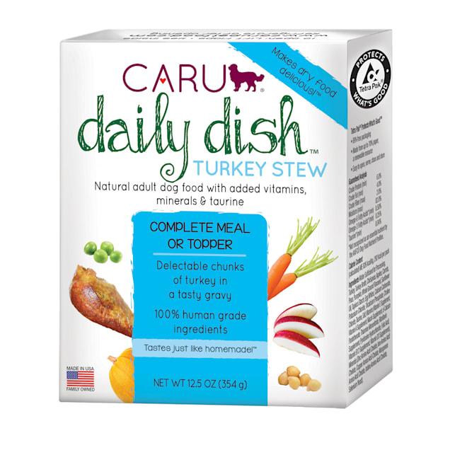 CARU Daily Dish Turkey Stew Wet Dog Food, 12.5 oz., Case of 12 - Carousel image #1